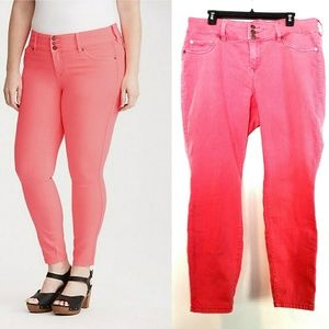 20 Torrid Jegging - Pink Wash